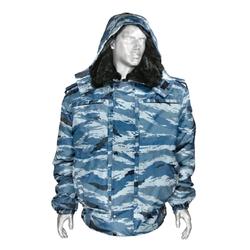 Куртка зимняя Оперативка (модель N) серый камыш