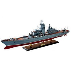 Модель Крейсер Петр Великий, масштаб 1:700.