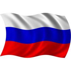 Флаг России шелковй, в ассортименте