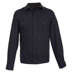 Рубашка форменная ВМФ, черная с длинным рукавом