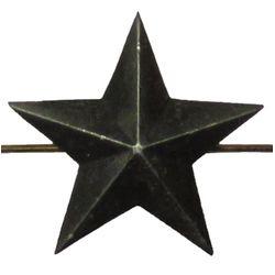 Звезда на погоны металл., большая 20 мм, защ.
