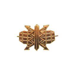 Эмблема петличная металл. РТВ ВВС, зол.