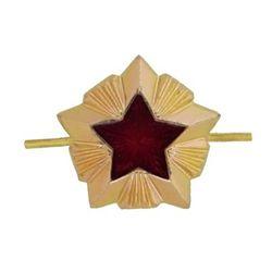 Звезда на погоны металл. Таможня, 13 мм, зол.