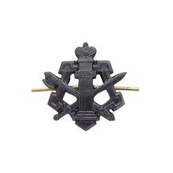 Эмблема петличная металл. ФСИН, черн.