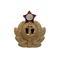 Кокарда металл. ВМФ СССР офиц. состав, эмаль