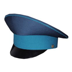 Фуражка ВВС н/о, ВДВ, ВКС, синяя с голубым околышем