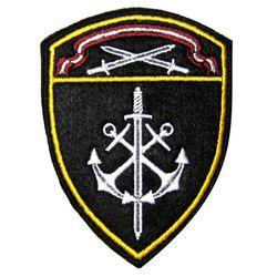 Шеврон Росгвардии СЗВО Морские части, вышитый нарукавный на липучке