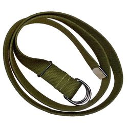 Ремень брючный с двумя кольцами, олива, 40 мм.