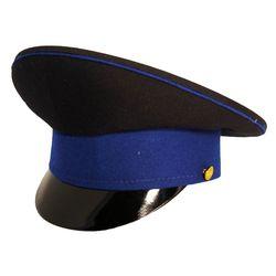 Фуражка ФСБ, иссиня-черная с васильковым кантом