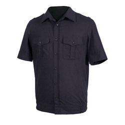 Рубашка форменная ВМФ, черная с коротким рукавом