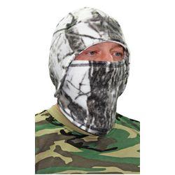 Шапка - маска Снегоход, флисовая, зимний лес