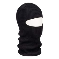Шапка - маска однослойная, черная