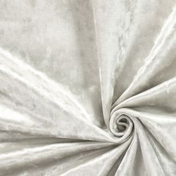 Ткань бархат белая, 40*47