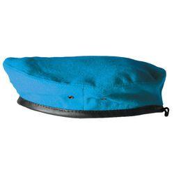 Берет форменный голубой со швом
