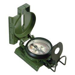 Компас Lensatic с линзой и крышкой.