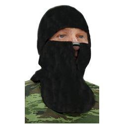 Шапка - маска Буран, флисовая, черная