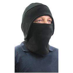 Шапка - маска Снегоход, флисовая, черная