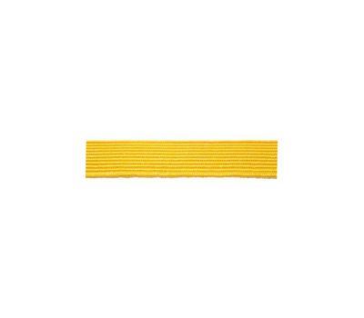 Галун шелковый узкий (10 мм), желтый
