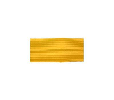 Галун шелковый широкий (25 мм), желтый