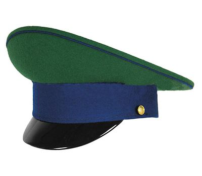 Фуражка ПС ФСБ, зеленая с васильковым кантом