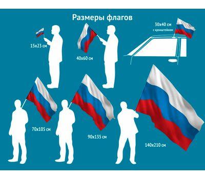Размеры флагов