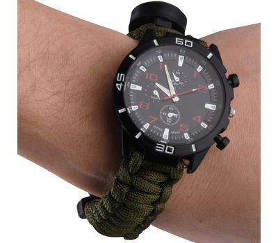 Часы тактические с набором для выживания.